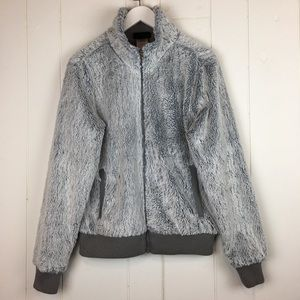 Patagonia Furry Coat Jacket Gray Medium
